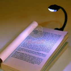 Könyvre Csíptethető LED Olvasólámpa