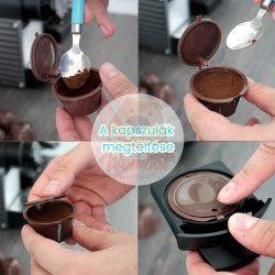 Újratölthető kávékapszula 5db - kapszulás kávégéphez