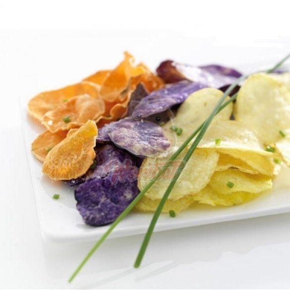 Olajmentes házi chips készítő, mikró sütőbe