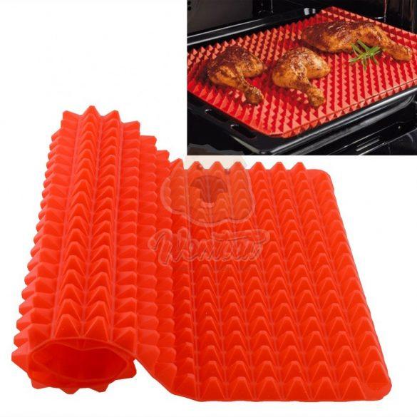 Magic Pad tapadásmentes szilikon sütőlap a zsiradékmentes sütéshez 220°C-ig