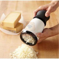 Hordozható tekerős sajtreszelő szett