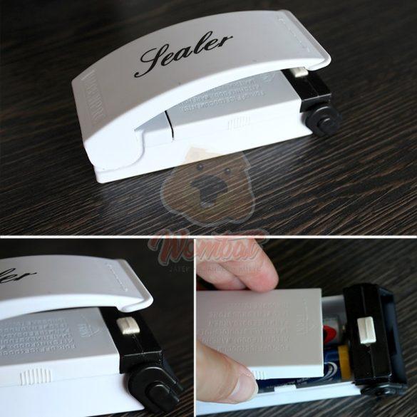 Mini kézi fóliahegesztő elektromos, hűtőmágneses