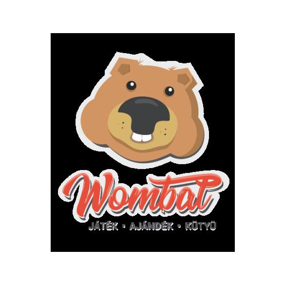 Világító filc hóember 20 cm