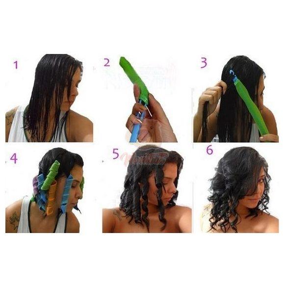 Mágikus hajgöndörítő hajformázó - Göndör frizura gyorsan