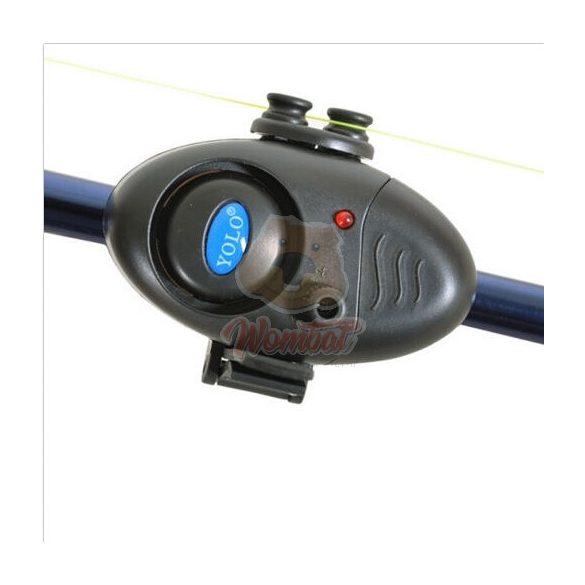 Profi Elektromos kapásjelző hang és fényjelzéssel