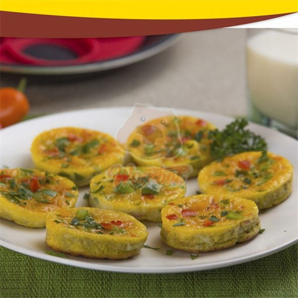Tapadásmentes szilikon tojás- és palacsintasütő forma