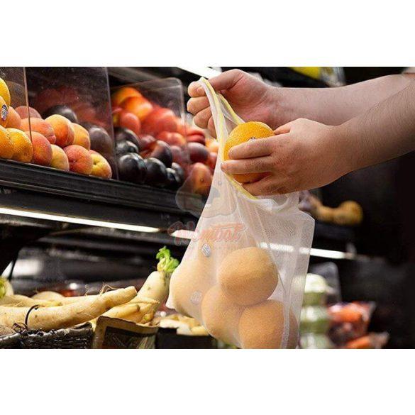 Környezetkímélő újrafelhasználható vásárlótáska (12 db)