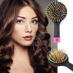 Rainbow mágikus, tükrös hajkímélő hajkefe
