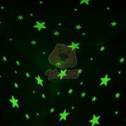 Varázslatos csillagos égbolt gyerekszoba dekoráció 100 darabos szett