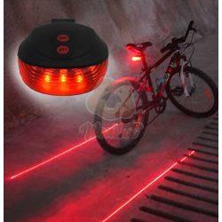 Lézeres kerékpár hátsó lámpa