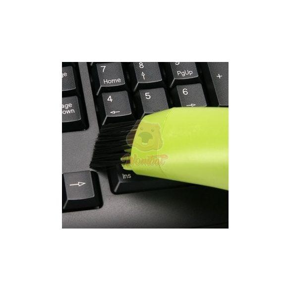 USB mini porszívó billentyűzethez, laptophoz