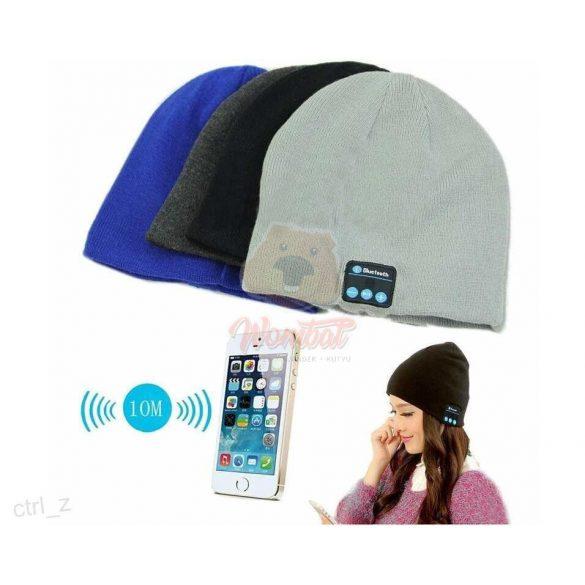Bluetooth sapka, mobiltelefonhoz, ne bajlódj a vezetékkel - kék