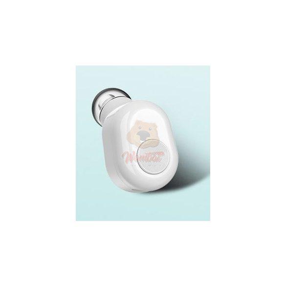Pluggy bluetooth fülhallgató + Ajándék Powerbank 700Mah - fehér
