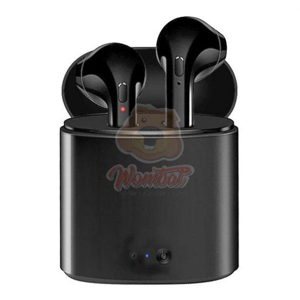 I7S Fekete fülhallgató -Stílusos megjelenés,kiváló hangzás?A legjobb helyen jársz.