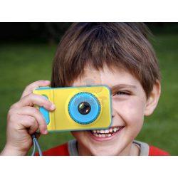 Gyermek digitális kamera - kék