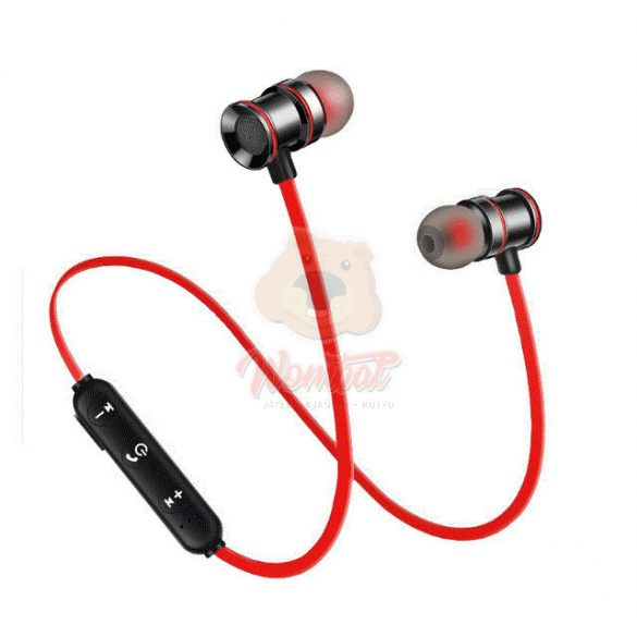 X10 Sport bluetooth headset - piros