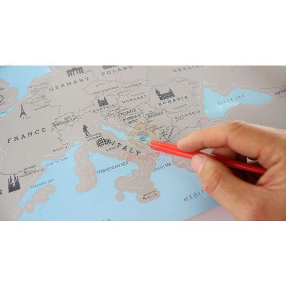 EU kaparós térkép